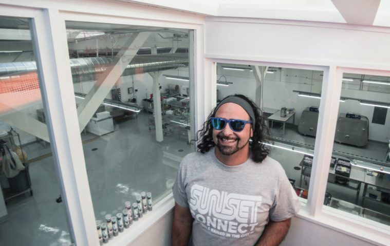 Sunset Connect owner Ali Jamalian