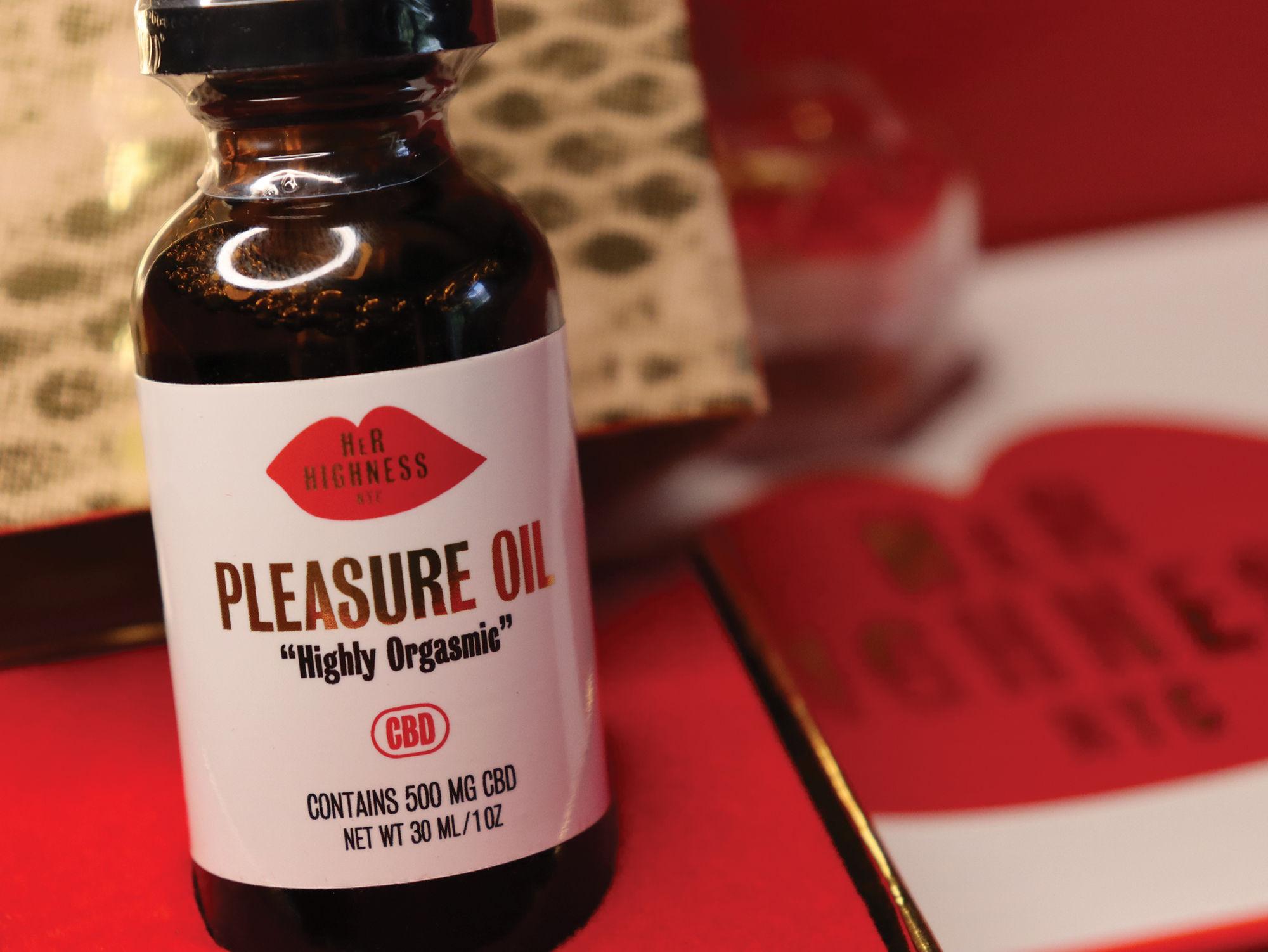 Highly Orgasmic Pleasure Oil