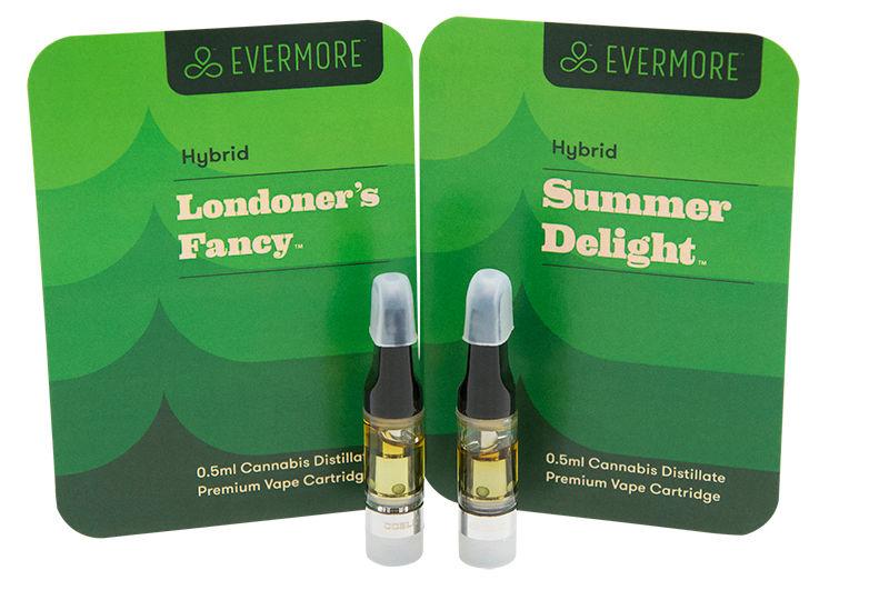 Evermore Distillate Cartridges