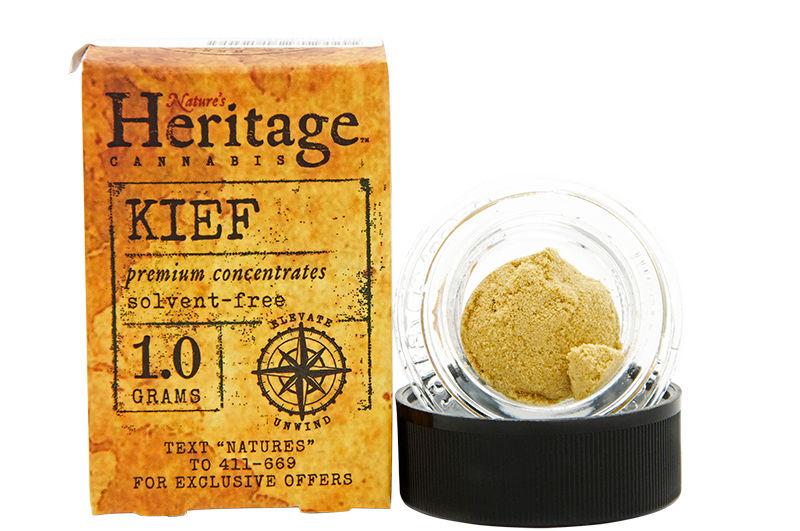 Natures Heritage Bubble Gum Diesel Kief