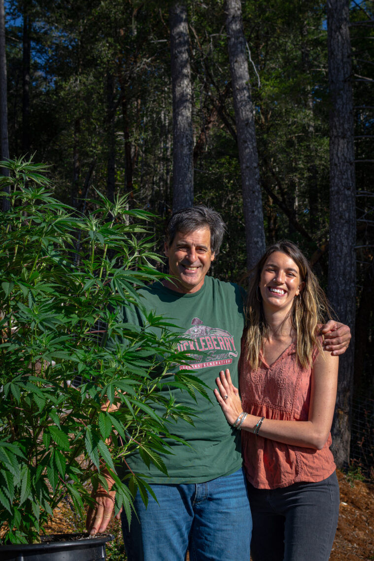 Johnny Casali of Huckleberry Hill Farms and his girlfriend, Brittany Rose Moberly