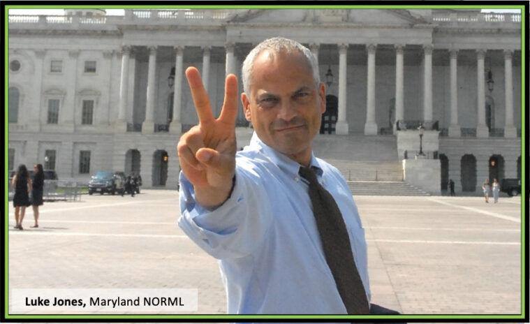 Maryland NORML Director Lawyer Luke Jones