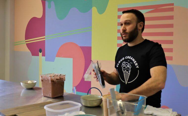David Yusefzadeh of Cloud Creamery