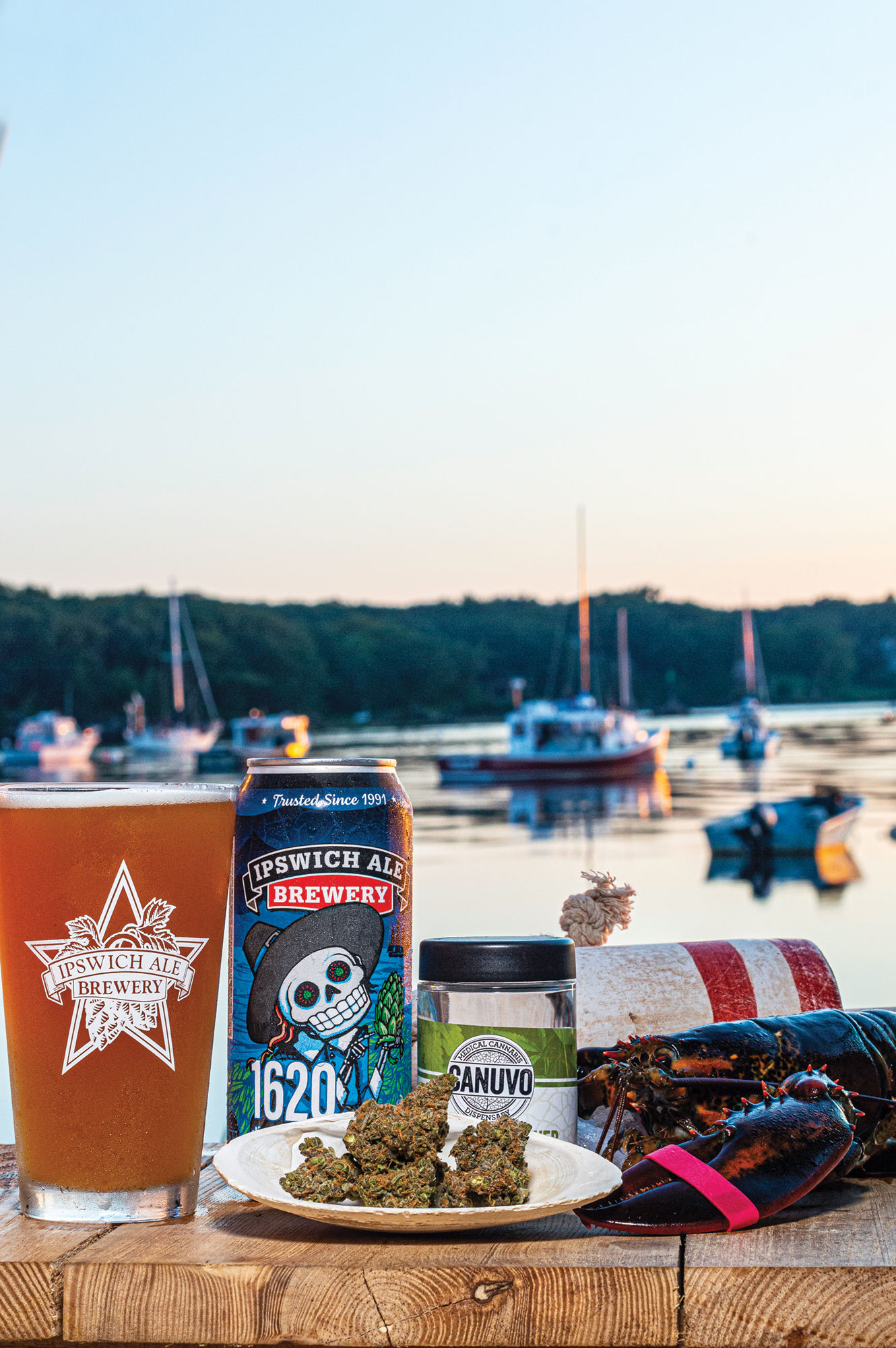 Moose and Lobsta and Ipswich Ale