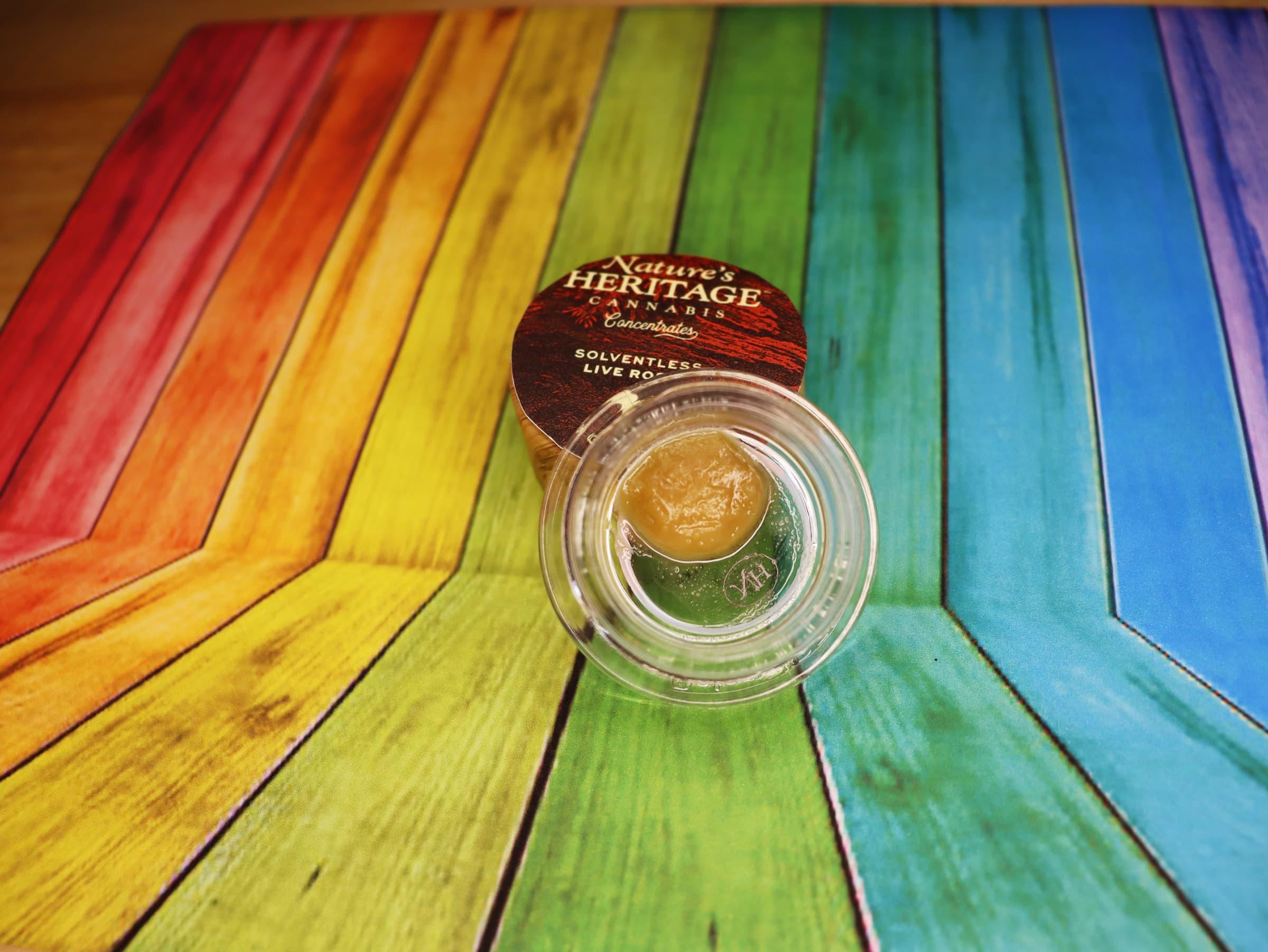 Rainbow Chip Live Rosin