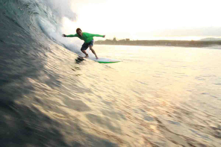 harris surfing
